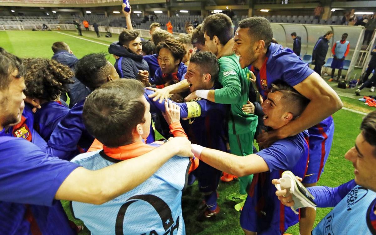 Juvenil A - Oporto: ¡La primera remontada les lleva a Nyon! (2-1)
