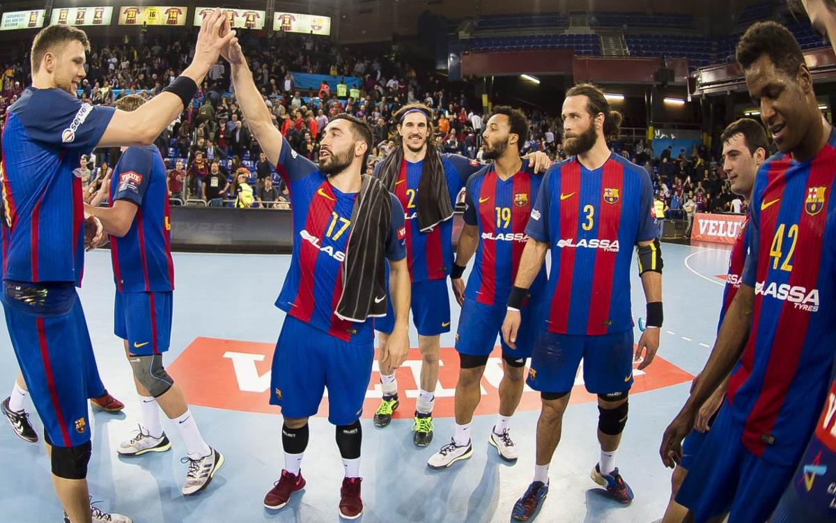 Match Report: FC Barcelona Lassa v Orlen Wisla Plock: A perfect route to the quarter finals (36-28)