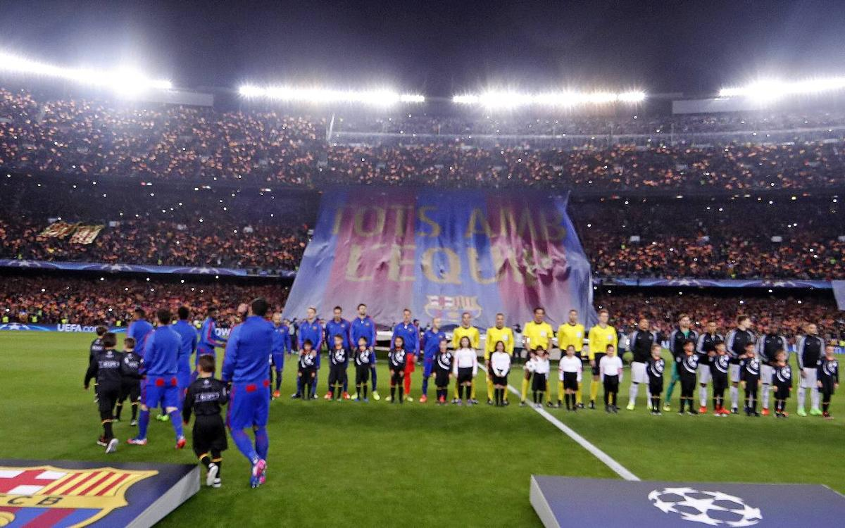 Camp Nou was unstoppable