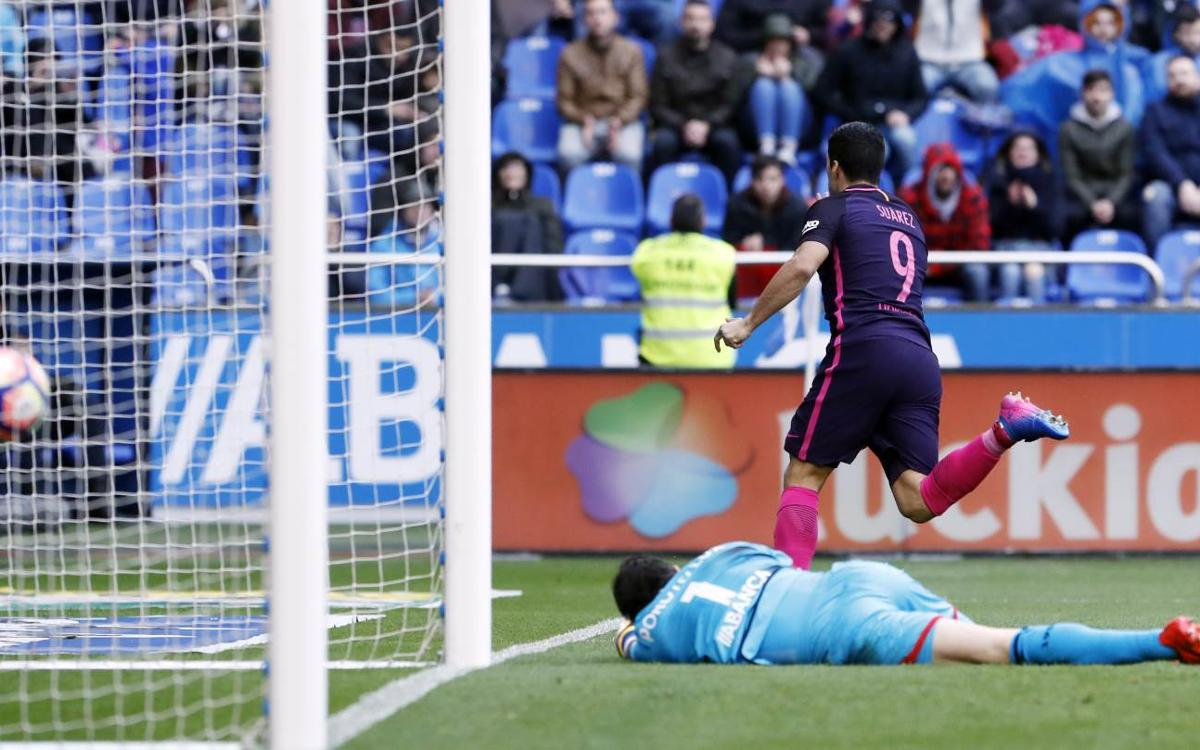 First defeat for FC Barcelona when Luis Suárez has scored