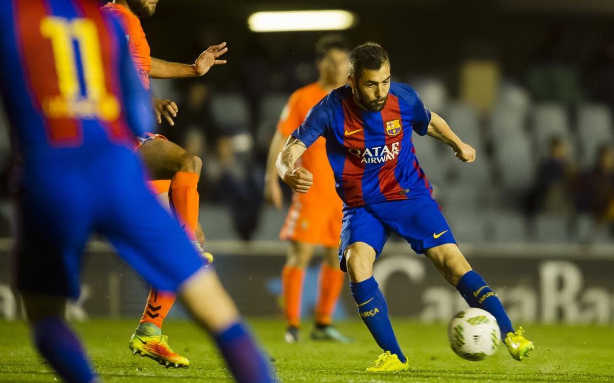 Barça B – Atlètic Llevant: Volen igualar la millor ratxa de la temporada