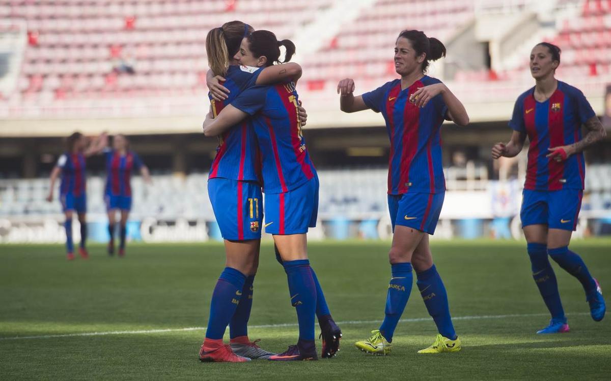 Barça Femenino - Sporting Huelva (previa): Tres puntos preferentes en el Mini