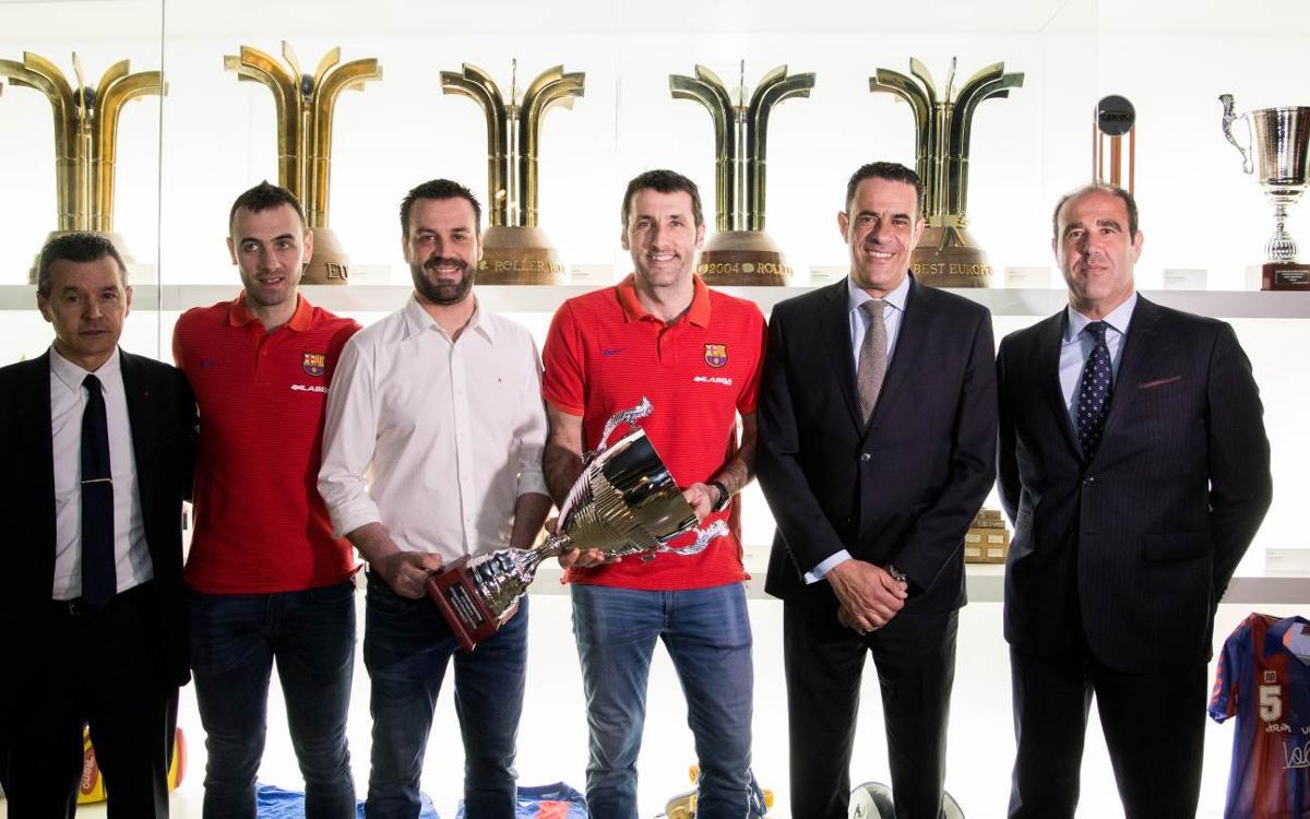 La Copa del Rei ja és al Museu del FC Barcelona