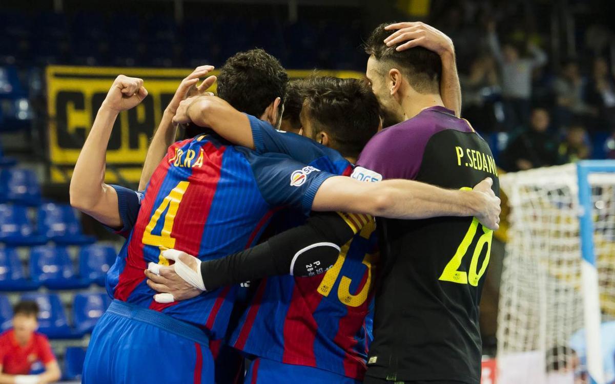 FC Barcelona Lassa v Levante: Triple turnaround brings the win (7-4)