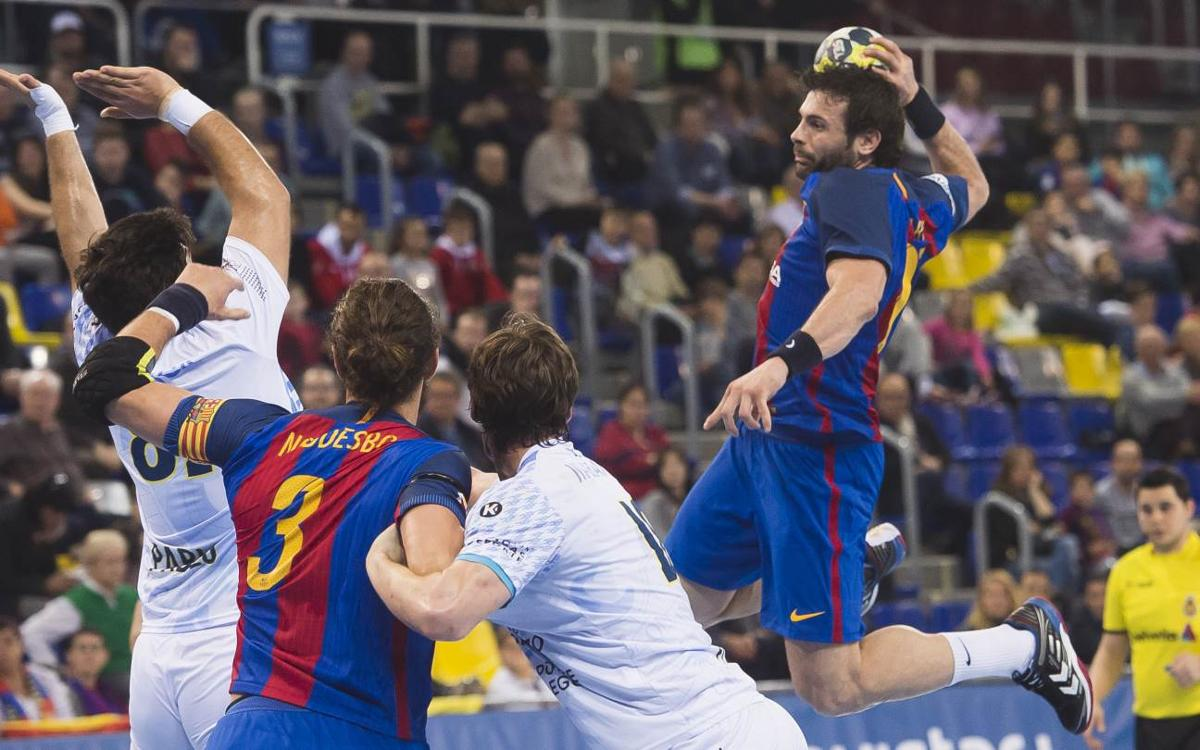 Barça Lassa 37-19 Frigoríficos Morrazo: League resumes with yet another win