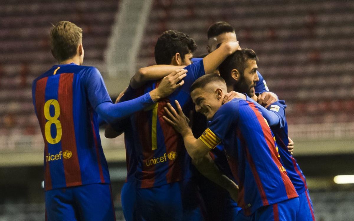 Barça B v Gavà: Fortress Miniestadi holds firm again (4-0)