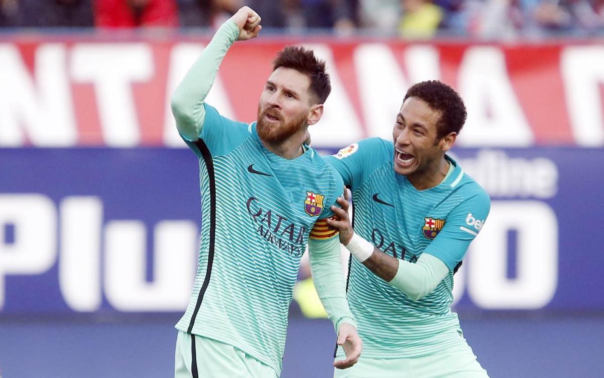 Atlético de Madrid - FC Barcelona: Messi dinamita la Liga (1-2)