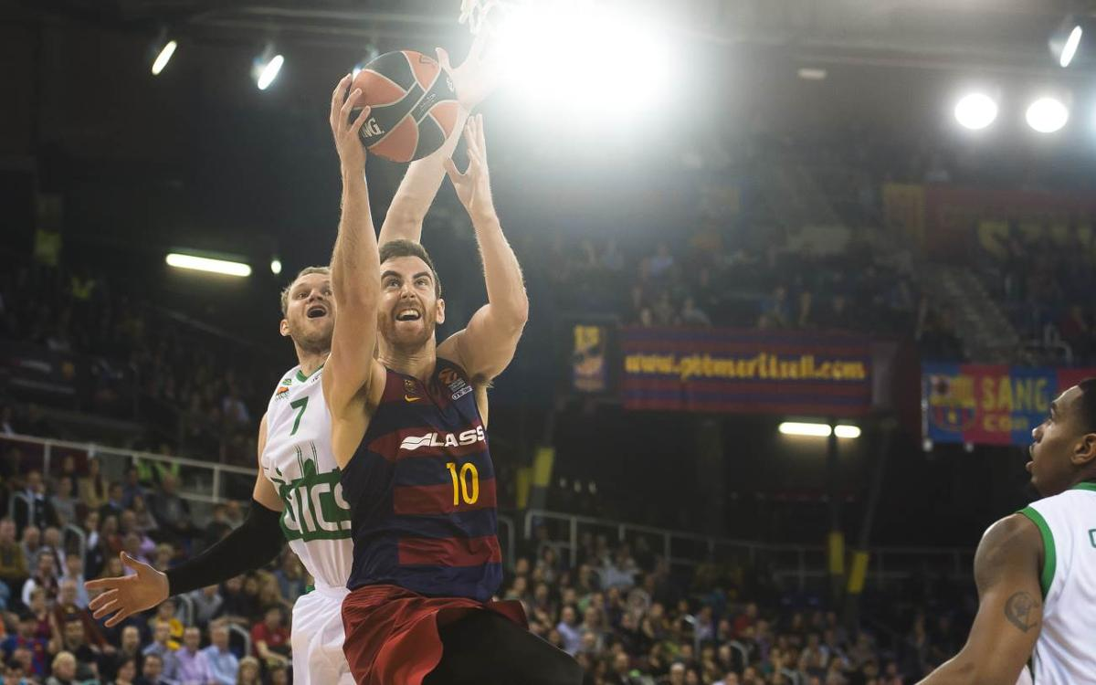 FC Barcelona Lassa 70-62 Unics Kazan: Solid victory at the Palau