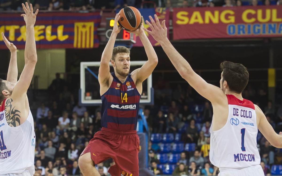 FC Barcelona Lassa 61-85 CSKA Moscow: Crushing home defeat