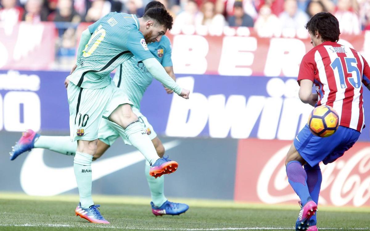[MATCH REPORT] Atlético Madrid 1-2 FC Barcelona: Precious late win at the Calderón