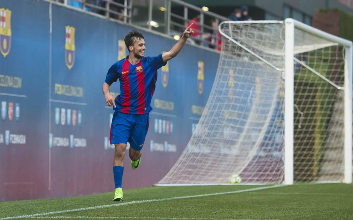 Top five goals from La Masia this week