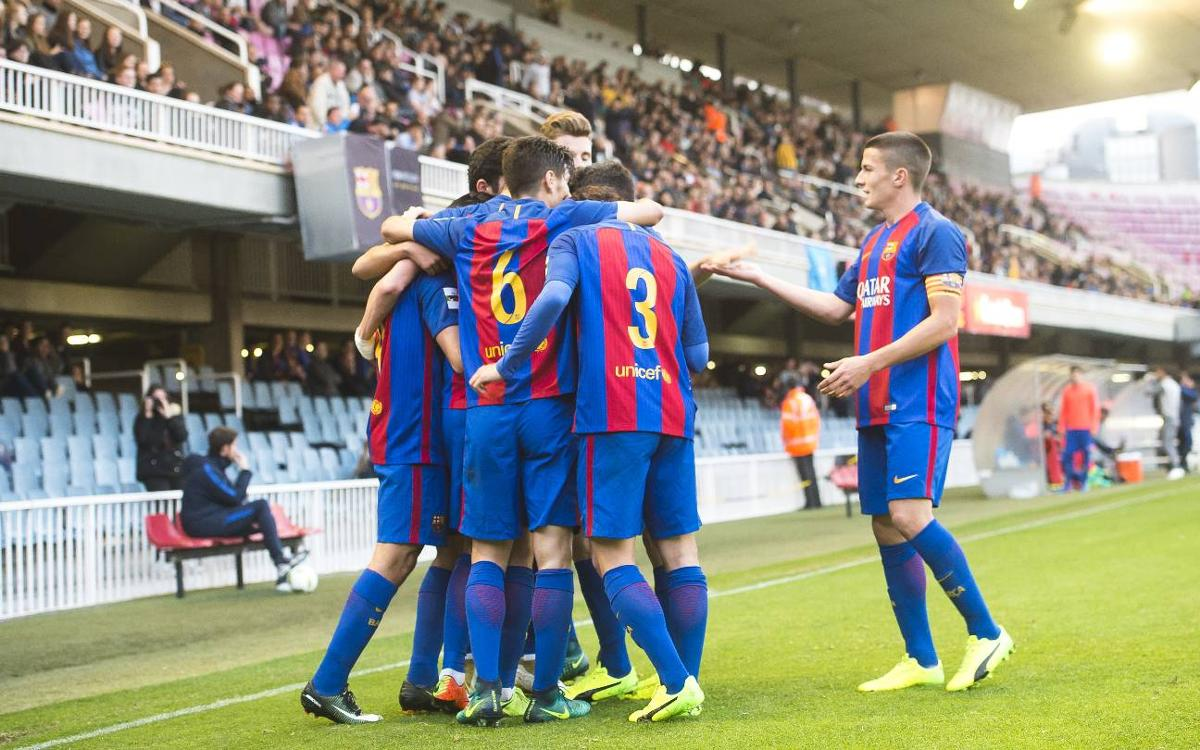 FC Barcelona B 4-0 UE Llagostera: Goals flow at the Miniestadi