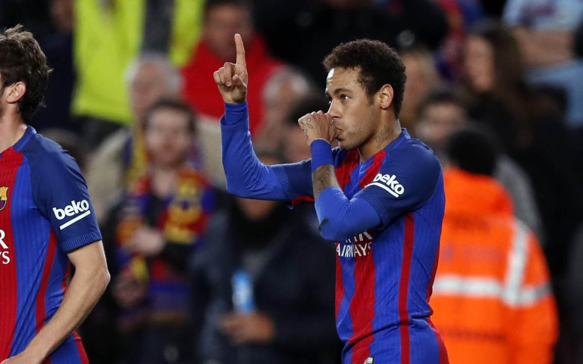 Neymar Jr's stellar display against Celta Vigo