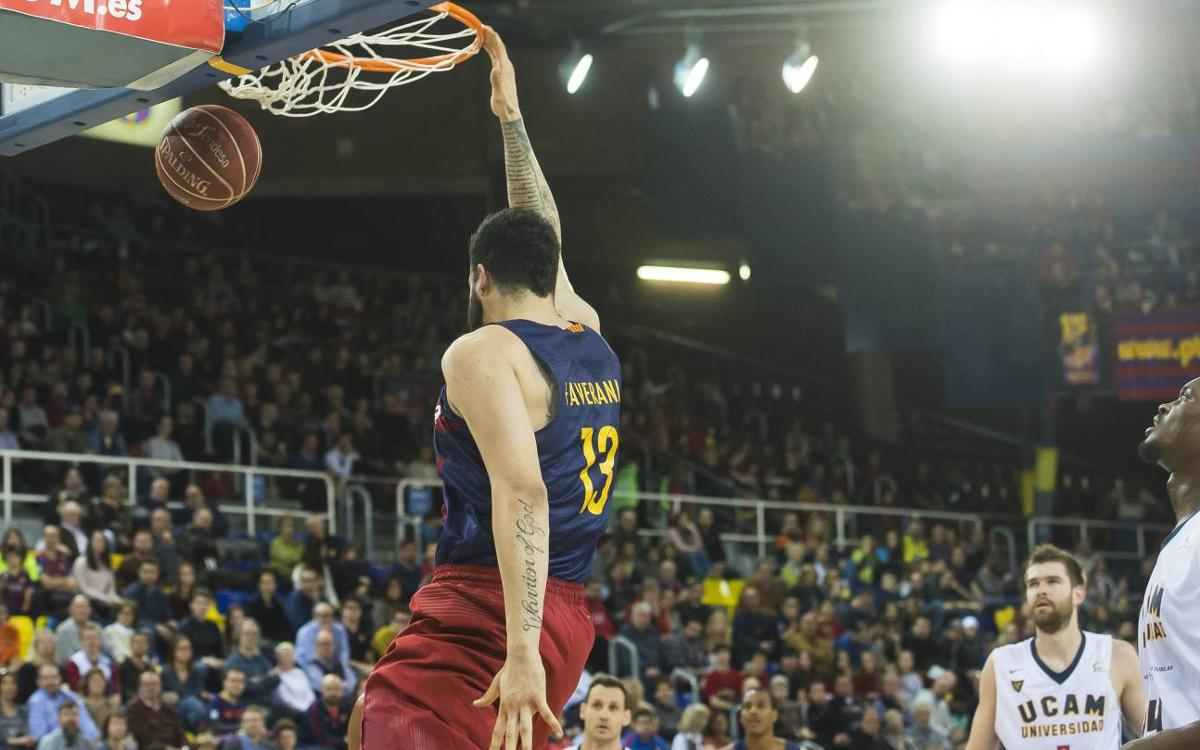FC Barcelona Lassa v UCAM Múrcia: Late but great (73-70)