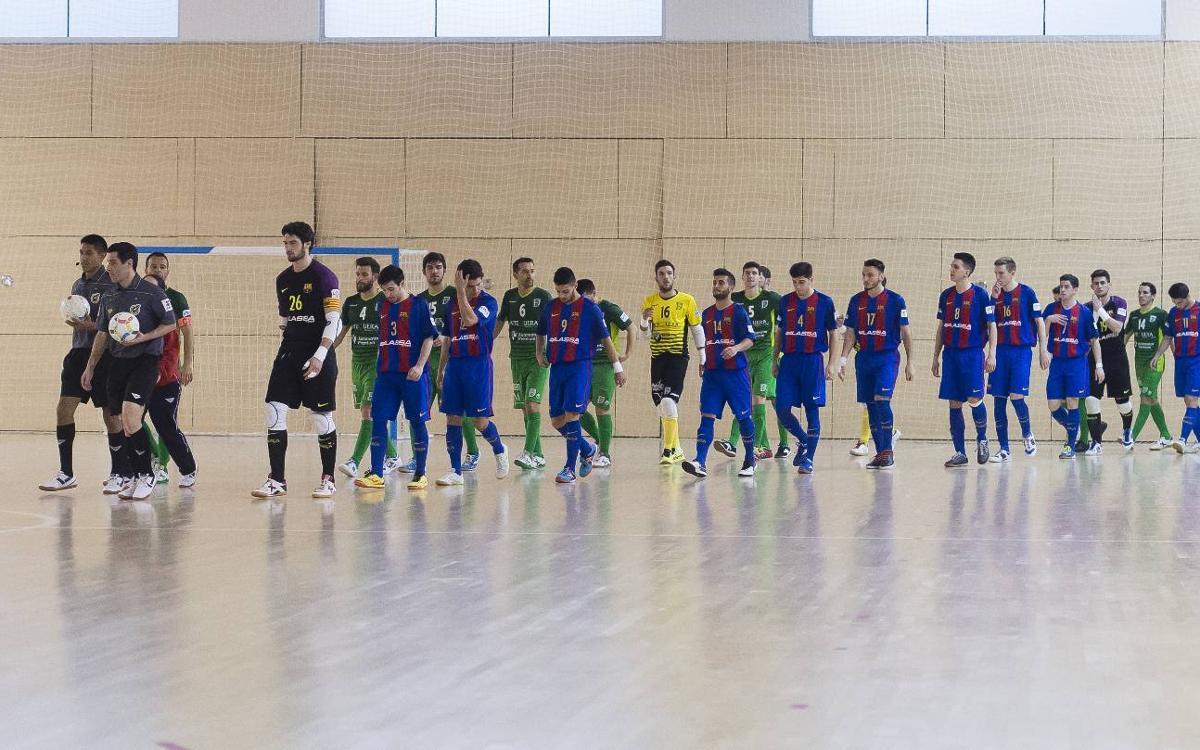 Entradas disponibles para el partido Barça B-Betis