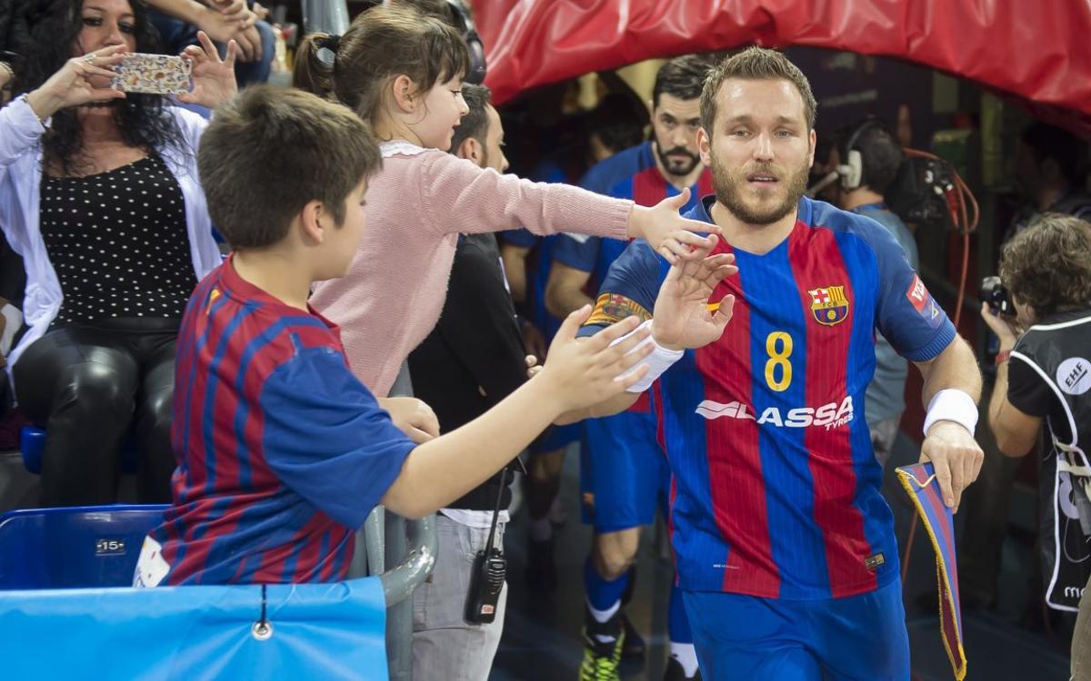 Ven de viaje con el Barça Lassa de balonmano