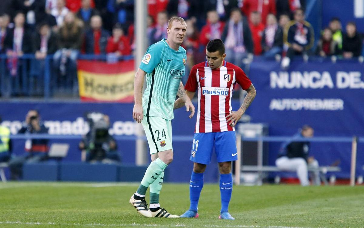 Jérémy Mathieu has sprained ankle