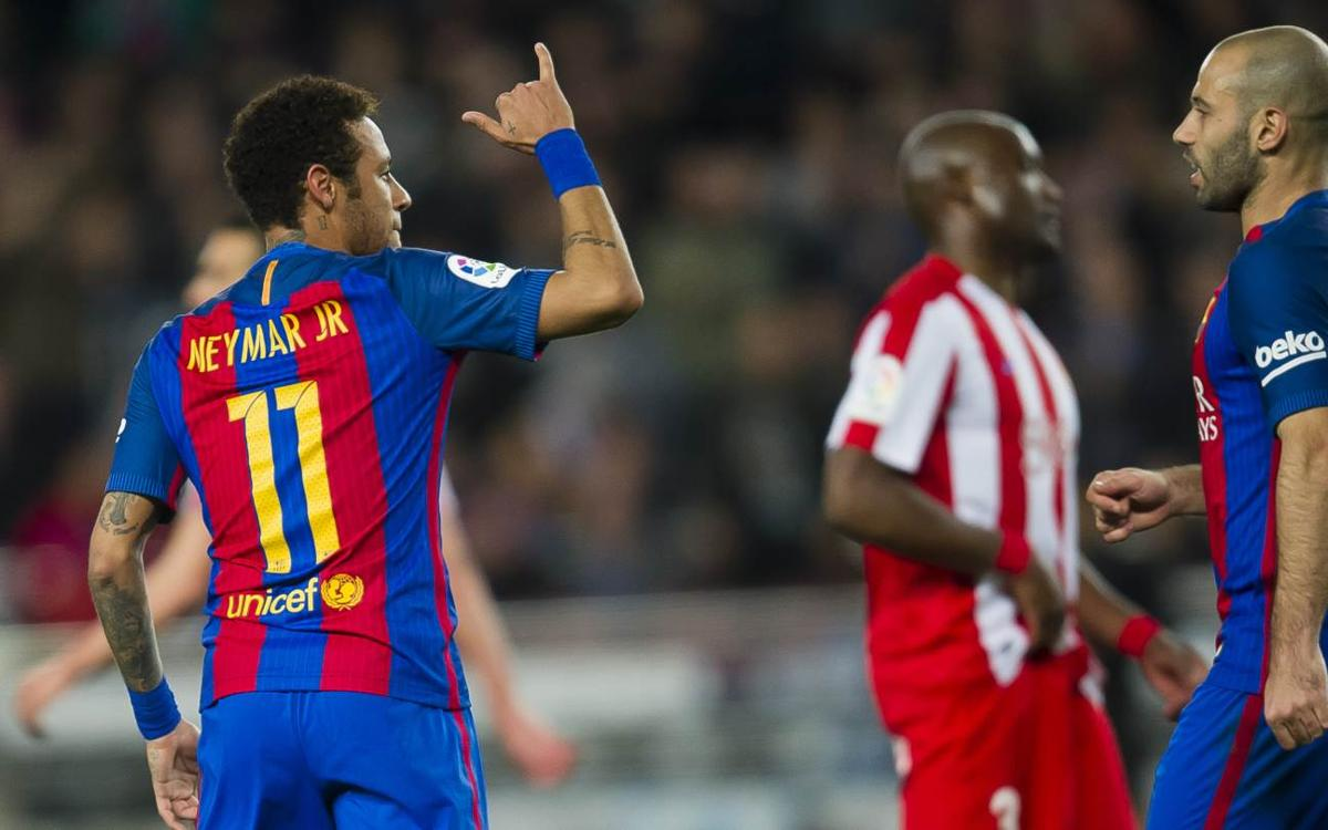 The best bits of skill from FC Barcelona v Sporting