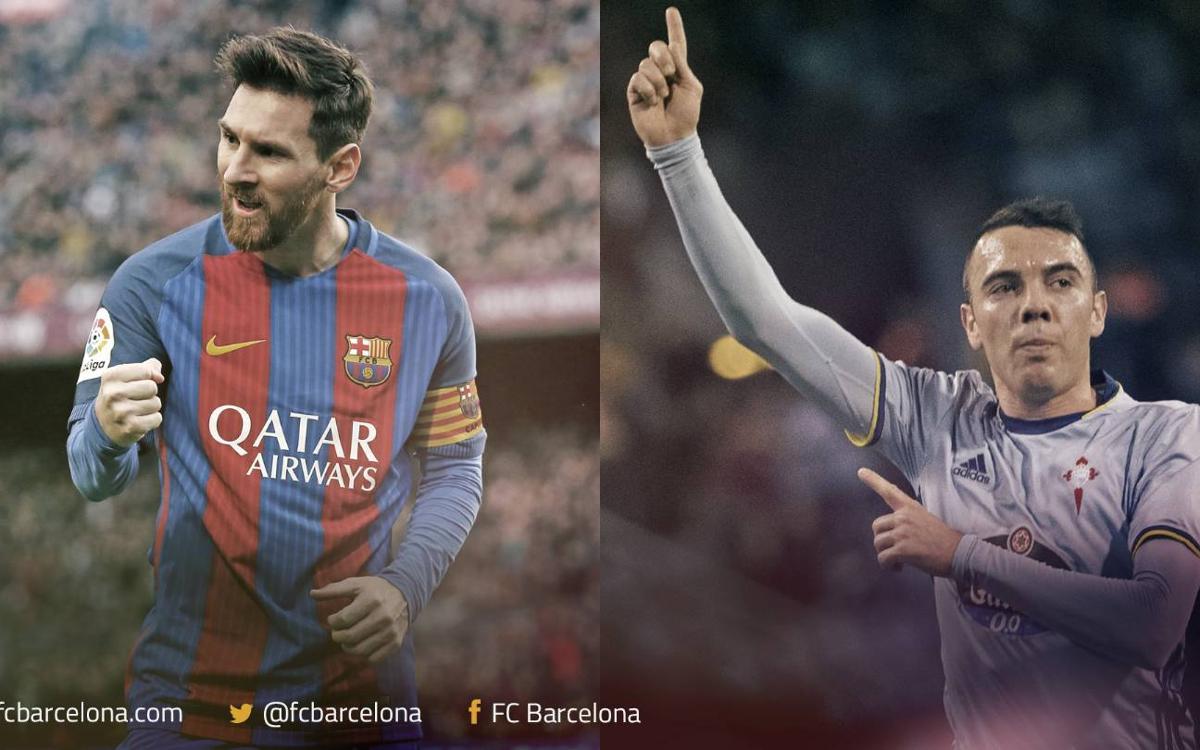 Leo Messi i Iago Aspas, les millors esquerres de la Lliga
