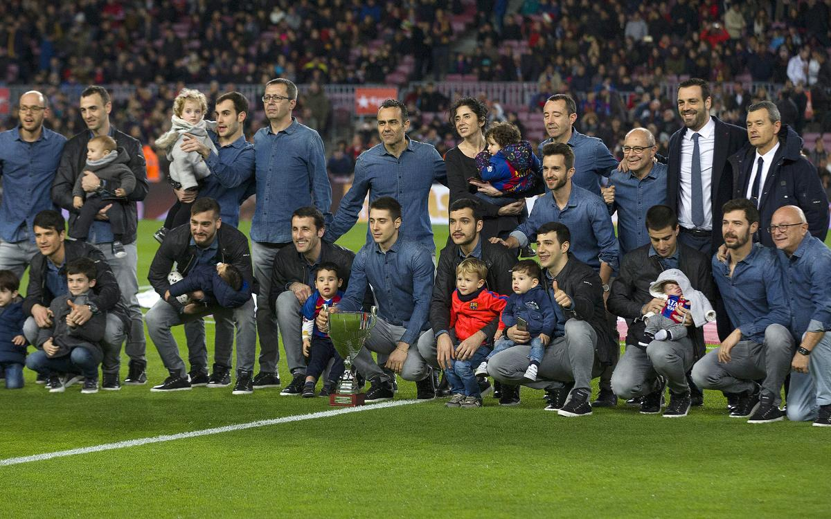 El Barça Lassa ofrece la Copa del Rey en el Camp Nou