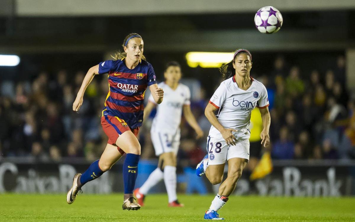 FC Barcelone Féminin - Paris Saint-Germain Féminin en demi-finales de la Ligue des Champions