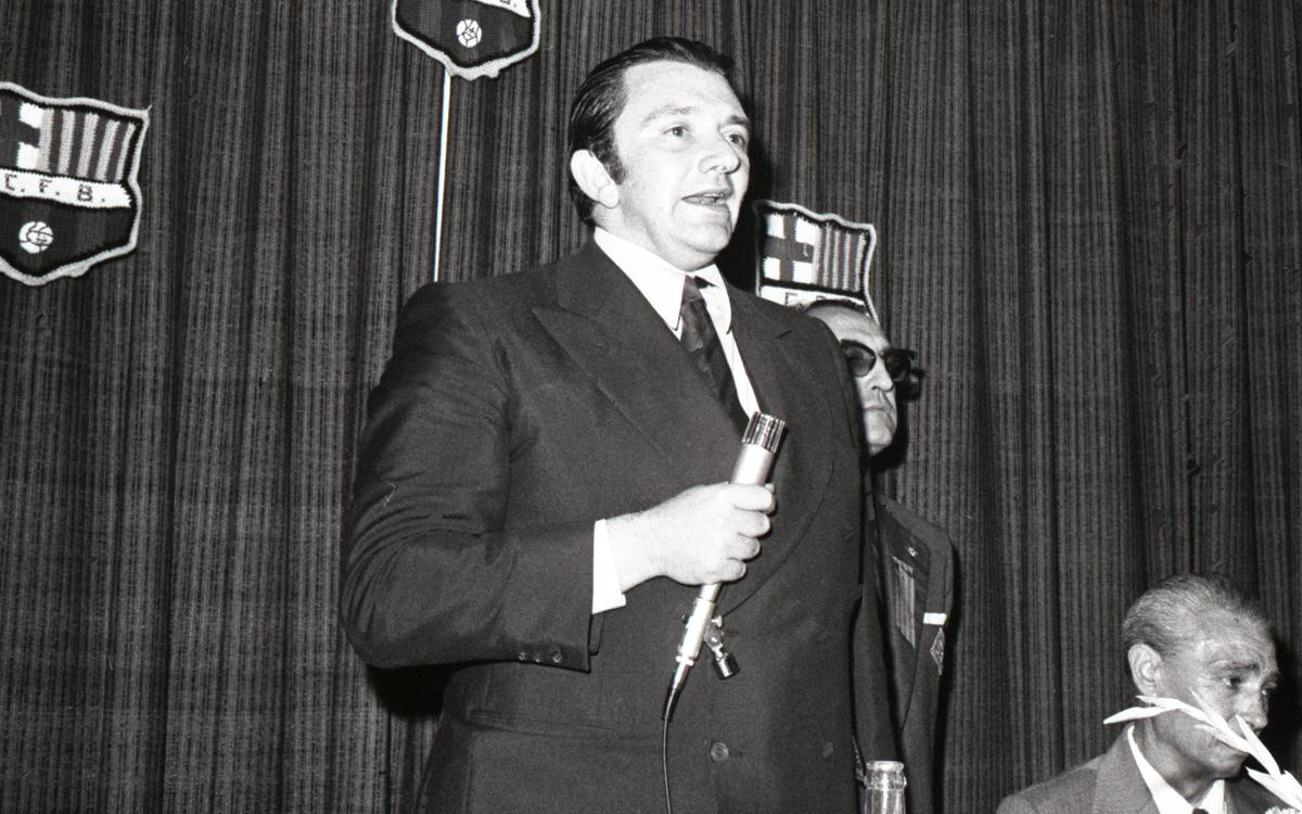 Former FC Barcelona president Agustí Montal dies