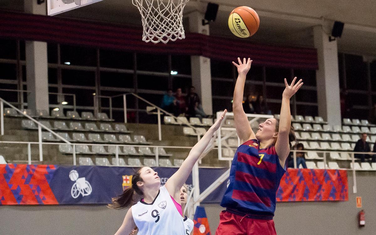 Basket Almeda – Barça CBS: Siguen sumando victorias fuera de casa (41-50)