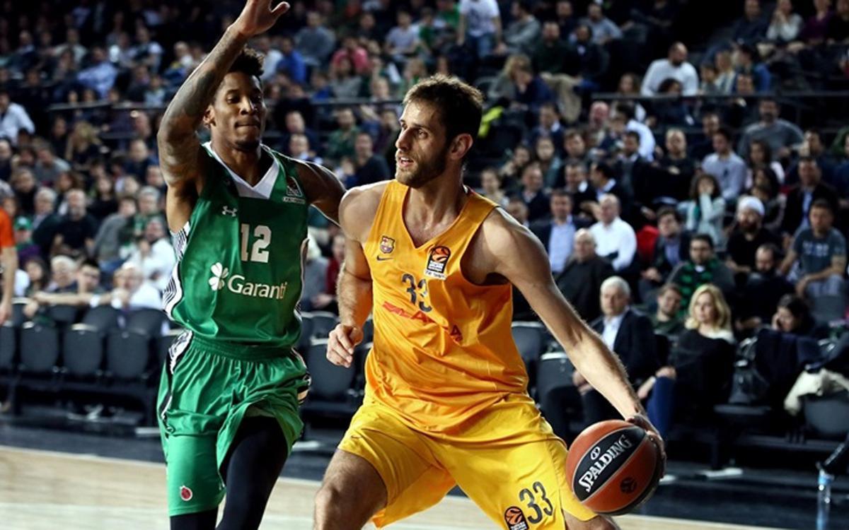 Darussafaka Dogus v FC Barcelona Lassa: Second quarter condemns blaugranas (67-56)
