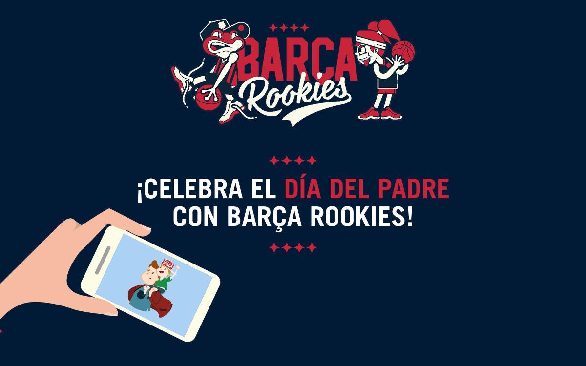 "Concurso ""Dia del Padre"" para los 'rookies' blaugrana"