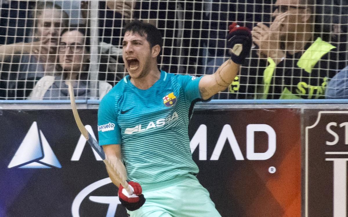 Match Report: Hockey Forte v Barça Lassa: First step towards the Final Four (1-3)