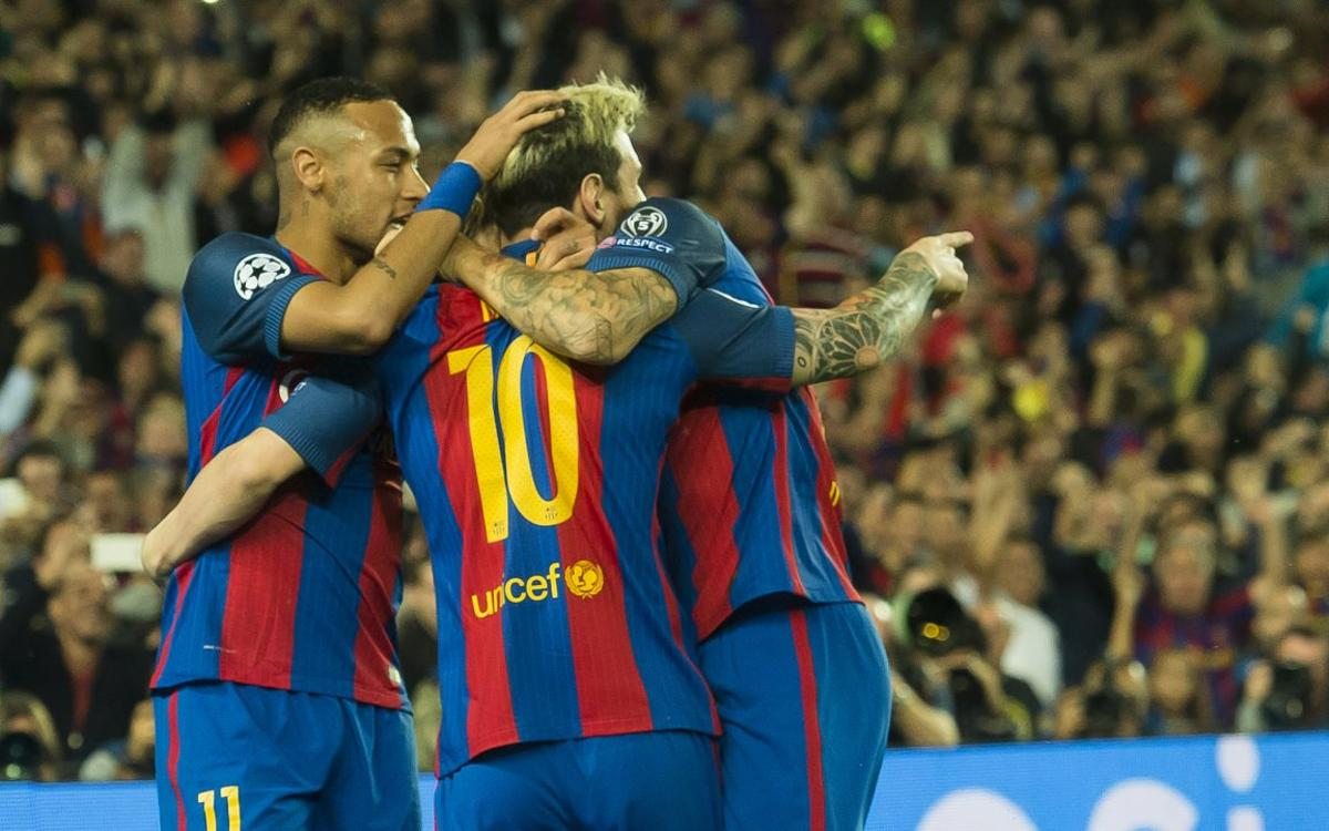 FC Barcelona - Paris Saint Germain: Tots units fem força