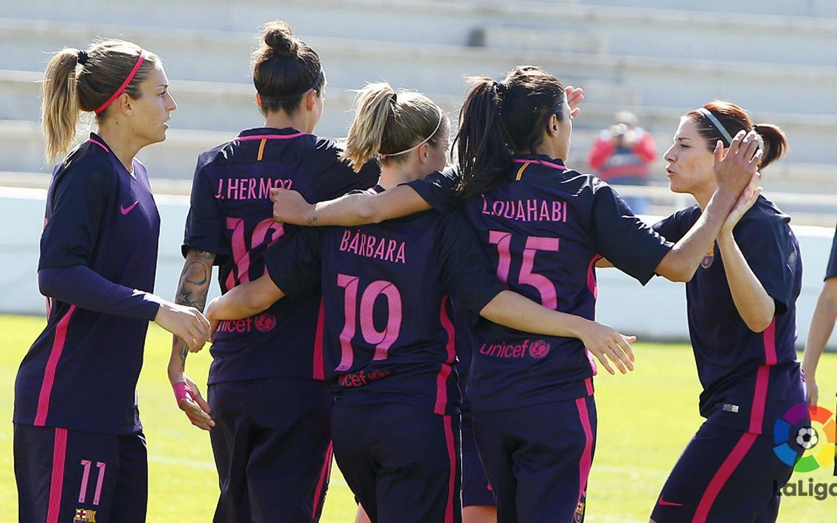 Fundación Albacete - FC Barcelona: Victoria para seguir luchando por el título (0-2)
