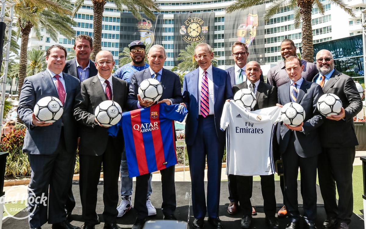 FC Barcelona will play Real Madrid in Miami on 29 July