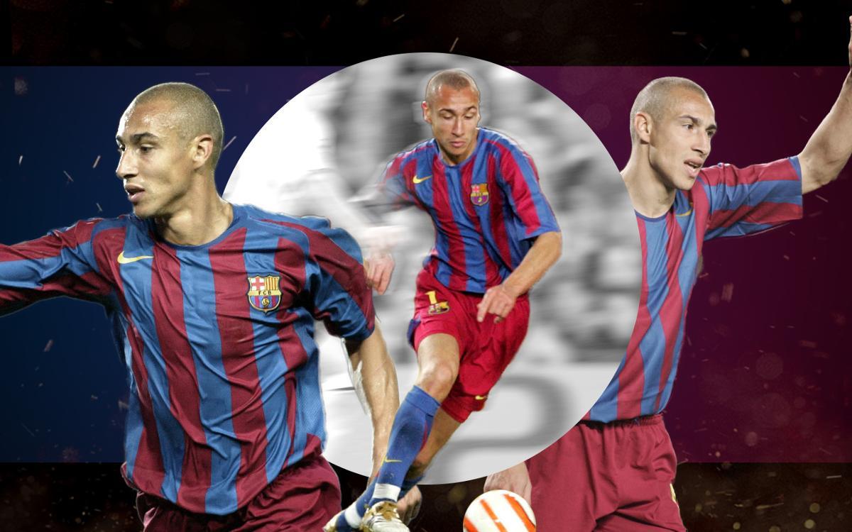 Henrik Larsson's big moments at FC Barcelona