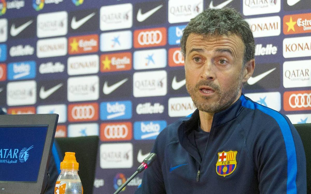 Luis Enrique: Valencia are always tough opponents
