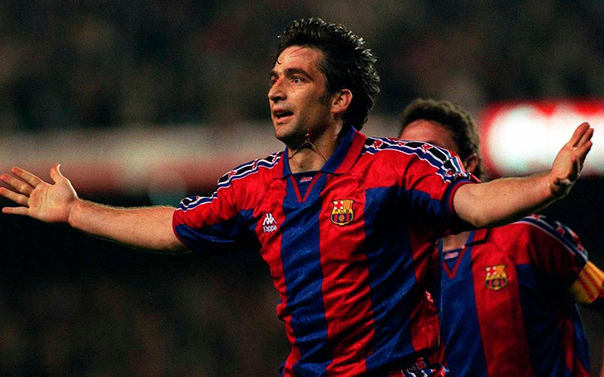 Es compleixen 20 anys de l'històric gol de Pizzi en la remuntada davant l'Atlètic de Madrid