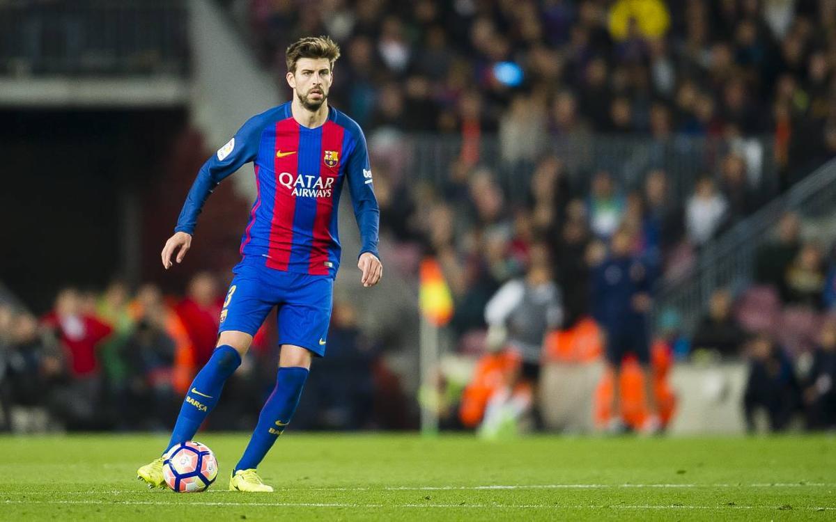 """Gerard Piqué: """"Veig la Lliga molt possible; queden molts partits i la distància és curta"""""""