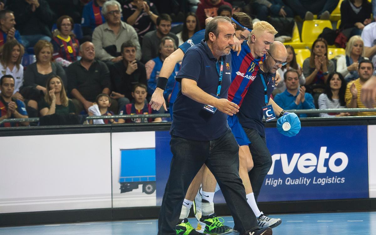 Lasse Andersson, sis mesos de baixa