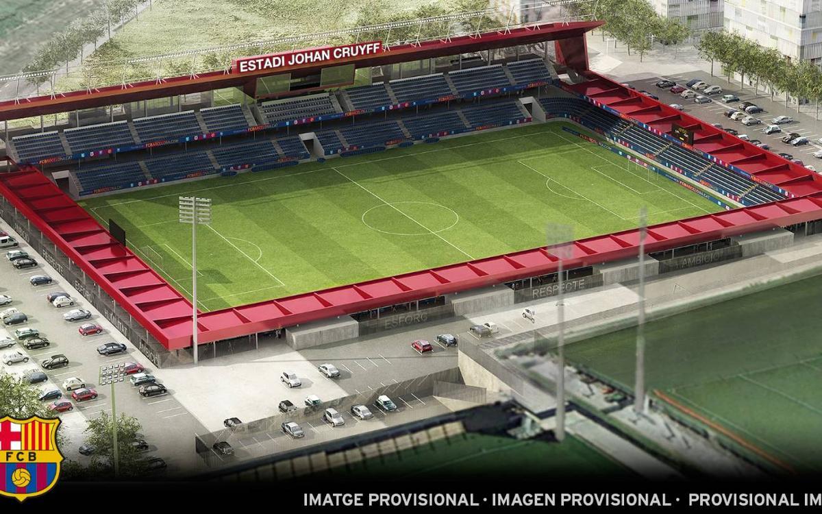 The stadium at the Ciutat Esportiva will be named after Johan Cruyff