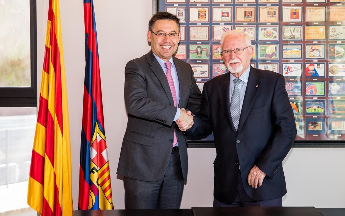 La Cruz Roja y el FC Barcelona colaborarán en programas sociales durante los próximos 5 años