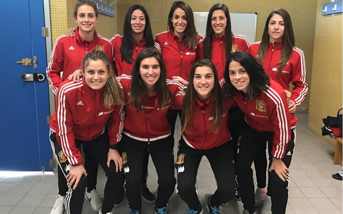 Comença l'Algarve Cup per a 10 culers