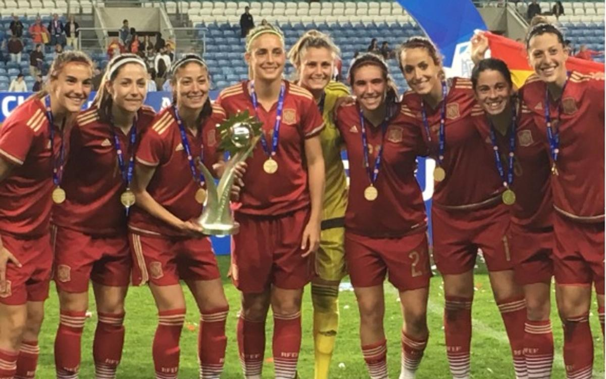 España gana Algarve Cup con gol de Leila Ouahabi (1-0)