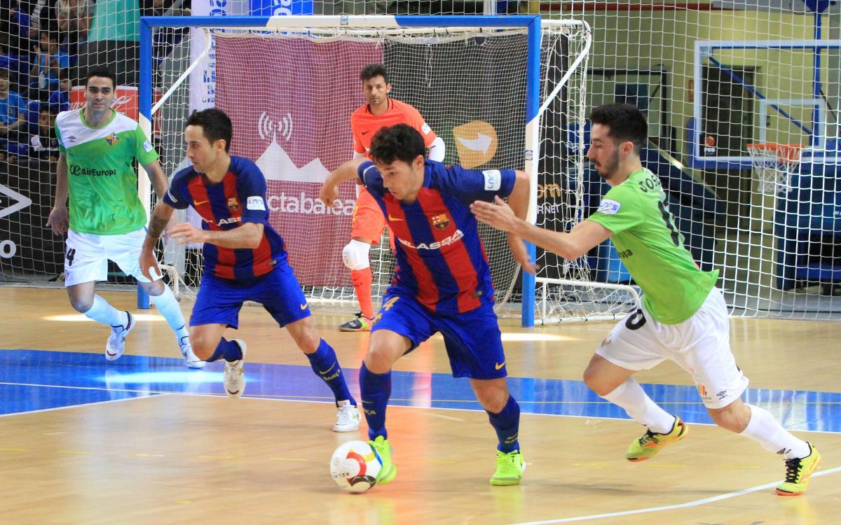 Palma Futsal – FC Barcelona Lassa: Son Moix vuelve a cruzarse en el camino (1-1)