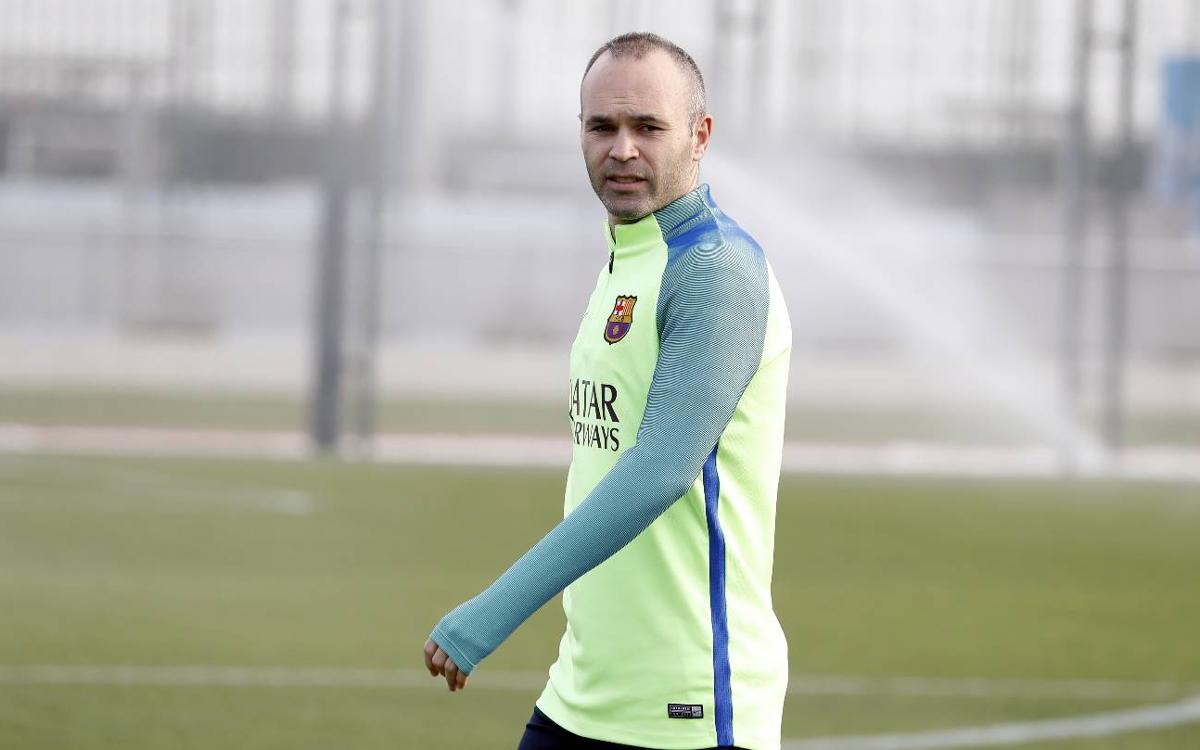 Andrés Iniesta: It will be a passionate and difficult tie