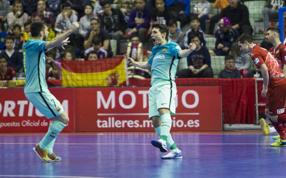 ElPozo Múrcia v FC Barcelona Lassa: Another big away win (1-2)