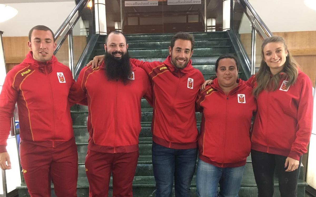 Cinco atletas del FC Barcelona convocados para la Copa de Europa de Lanzamientos