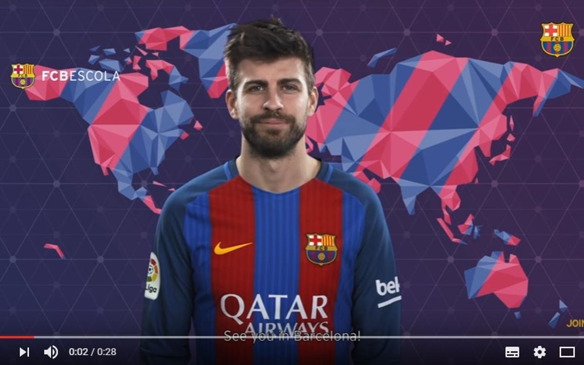Compte à rebours avant le Tournoi International #FCBEscola2017 du FC Barcelone