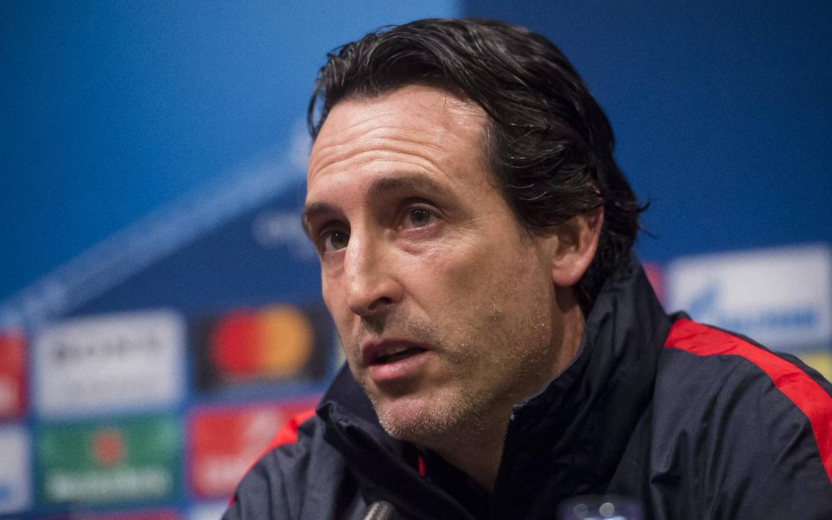 Unai Emery: 'A lot can happen in 90 minutes'