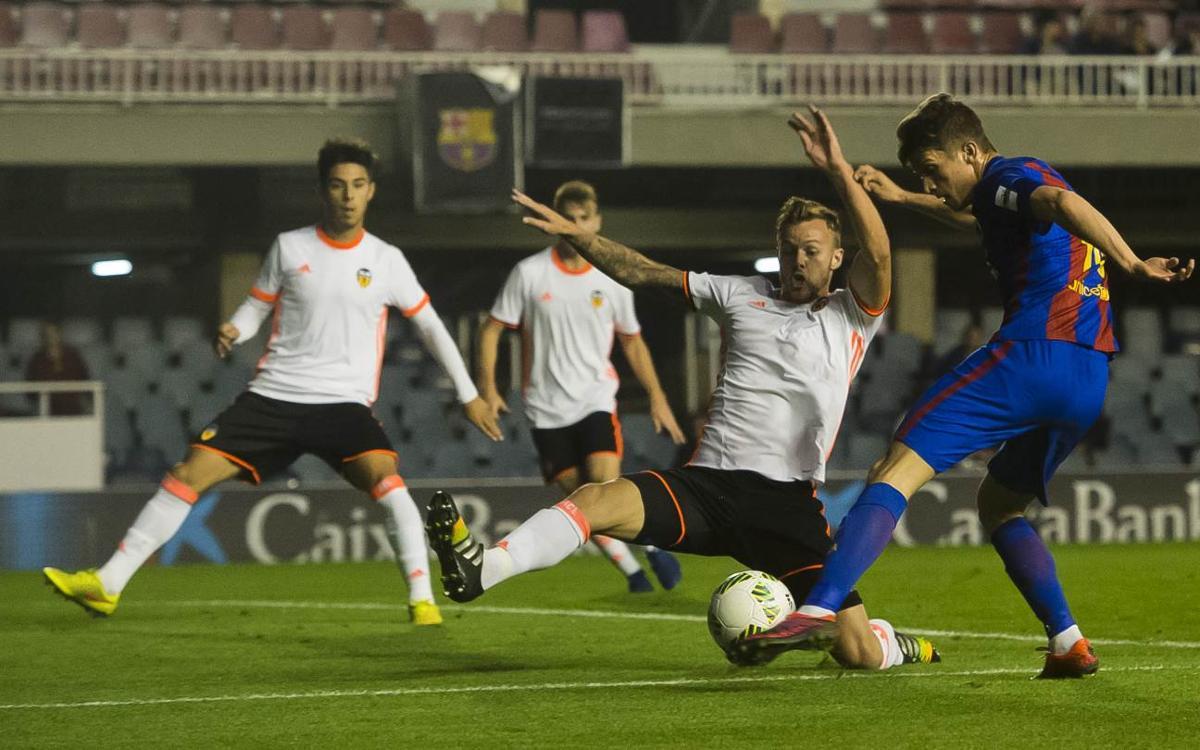 Valencia Mestalla – Barça B: Buscando un golpe de autoridad