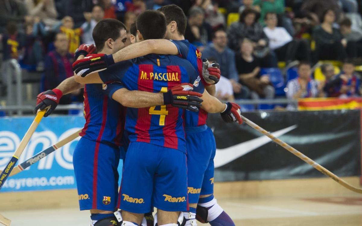 FC Barcelona Lassa – Igualada Calaf Grup: La fuerza del campeón debe continuar en la OK Liga